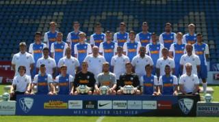 Das neue Team des VFL Bochum - © by K-Media-Sports